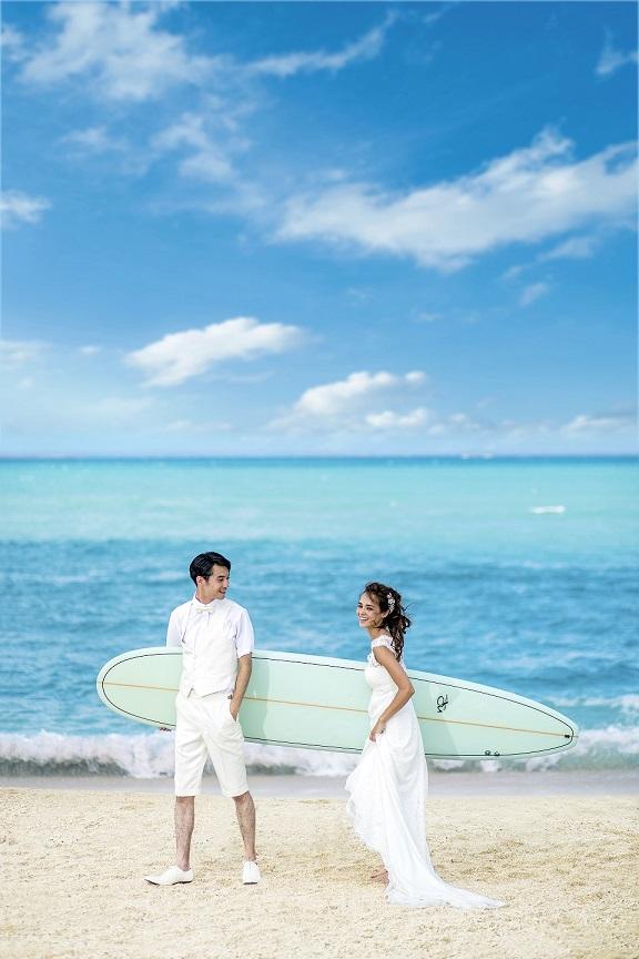 【HAWAII*WEDDING】~4/30までのお申込み特典~